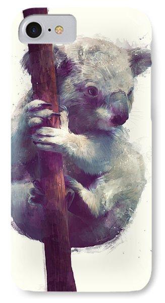 Koala IPhone 7 Case by Amy Hamilton