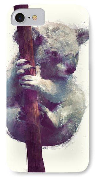 Koala IPhone Case by Amy Hamilton