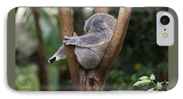 Koala Bear 3 IPhone Case by Gary Crockett