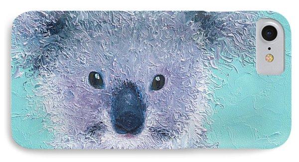Koala IPhone Case by Jan Matson