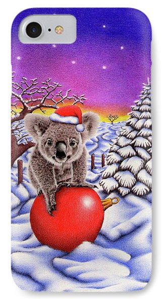 Koala On Christmas Ball IPhone 7 Case by Remrov