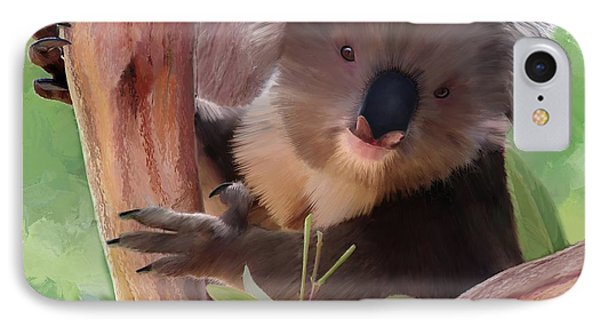 Koala  Painting IPhone Case