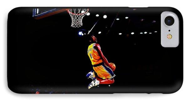Kobe Bryant In Flight 08a IPhone Case