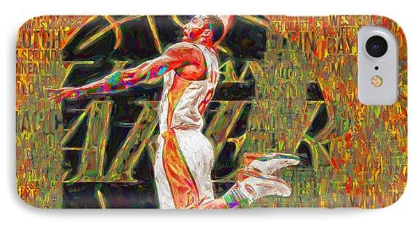 Kobe Bryant La Lakers Digital Painting 4 IPhone Case