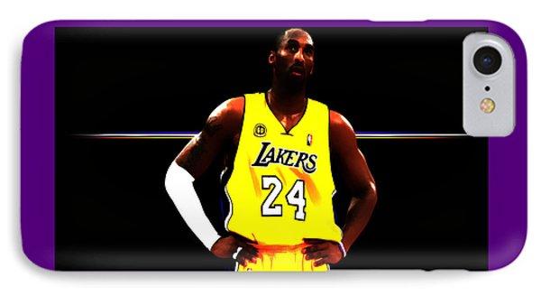 Kobe Bryant Ready For Battle IPhone Case