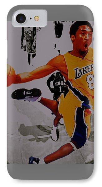 Kobe Bryant Taking Flight 3a IPhone Case