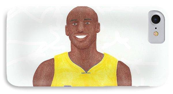 Kobe Bryant Phone Case by Toni Jaso