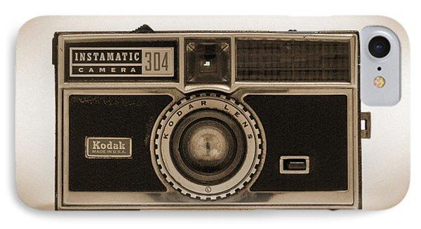 Kodak Instamatic Camera Phone Case by Mike McGlothlen