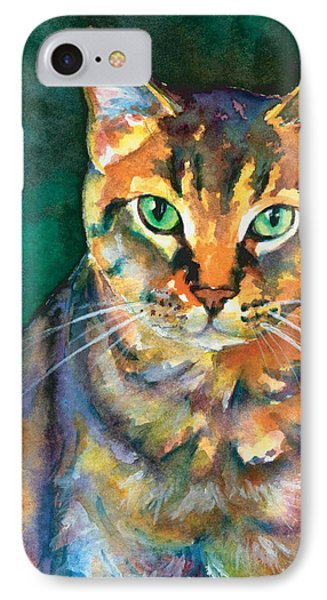 IPhone Case featuring the painting Kodi by Christy Freeman