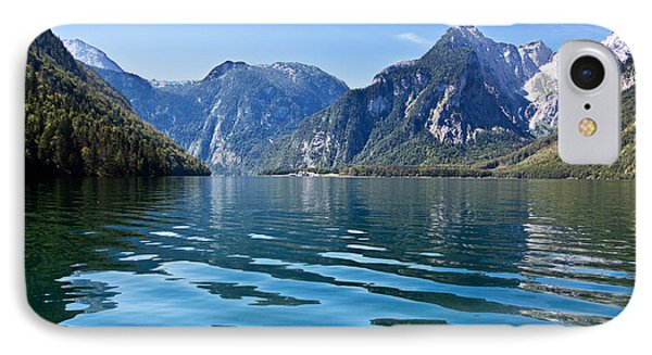 Koenigssee IPhone Case by Nailia Schwarz