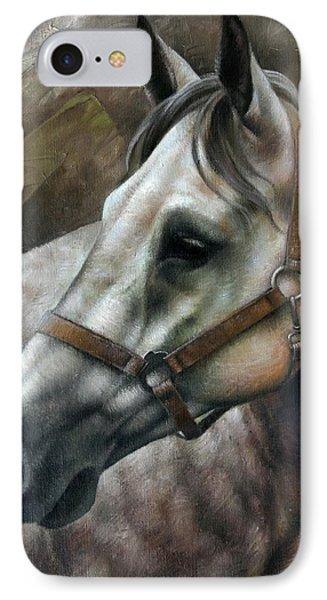 Horse iPhone 7 Case - Kogarashi by Arthur Braginsky