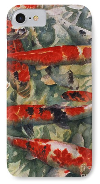 Koi Karp IPhone Case by Gareth Lloyd Ball