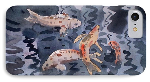 Koi Pond Phone Case by Donald Maier