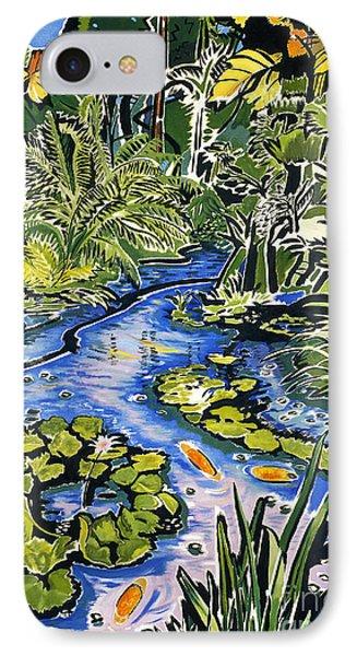 Koi Pond Phone Case by Fay Biegun - Printscapes