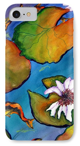IPhone Case featuring the painting Koi Pond II Sold by Lil Taylor