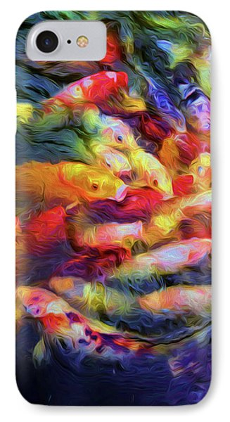 Koi Pond IPhone Case by Jon Woodhams