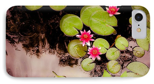 Koi Pond With Water Lilies IPhone Case by Heidi Hermes
