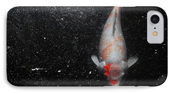 IPhone Case featuring the photograph Koi Approach by Deborah  Crew-Johnson