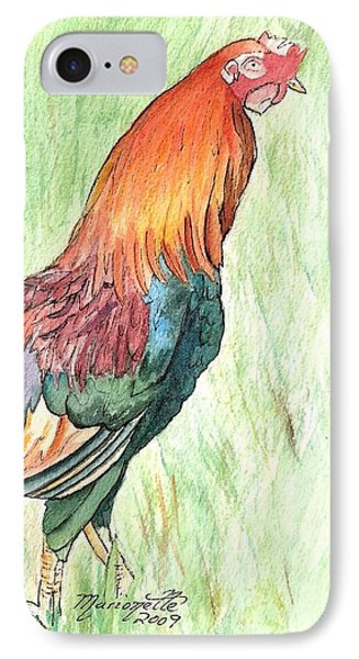 Kokee Rooster Phone Case by Marionette Taboniar