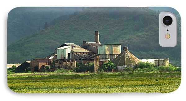 Koloa Sugar Mill IPhone Case by Roger Mullenhour