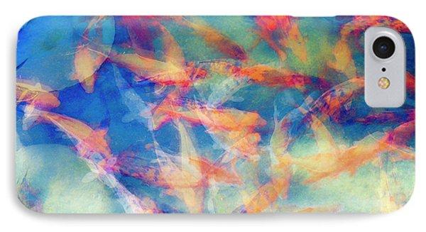 Kolorful Koi Series IPhone Case by Joseph S Giacalone
