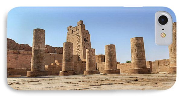 IPhone Case featuring the photograph Kom Ombo by Silvia Bruno