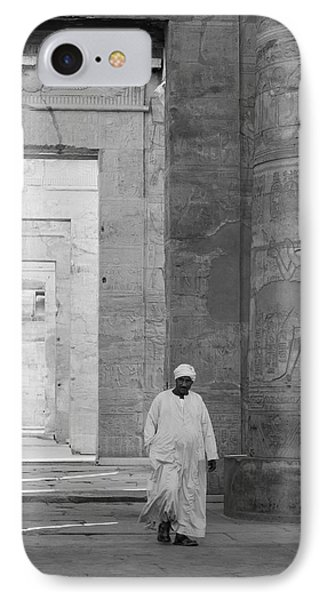 Kom Ombo Temple IPhone Case by Silvia Bruno