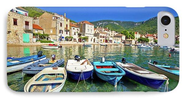 Komiza On Vis Island Turquoise Waterfront IPhone Case