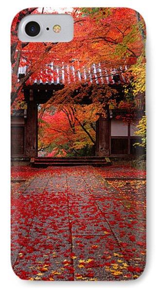 Komyoji Temple  Kyoto Japan IPhone Case