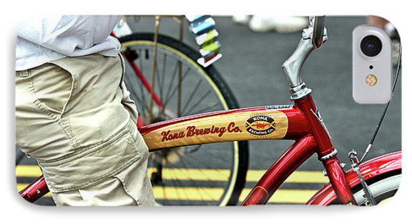 Kona Beer Bike IPhone Case