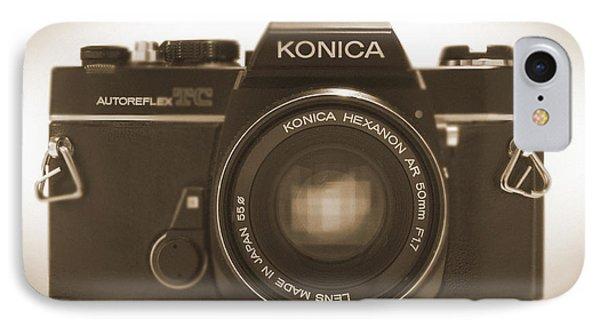 Konica Tc 35mm Camera Phone Case by Mike McGlothlen