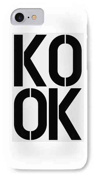 Kook IPhone Case by Three Dots
