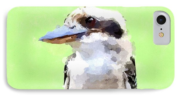 Kookaburra Phone Case by Chris Butler