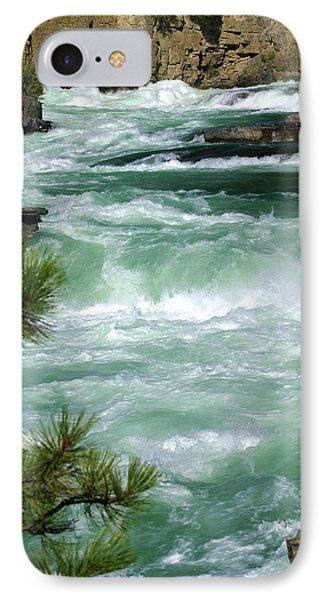 Kootenai River Phone Case by Marty Koch