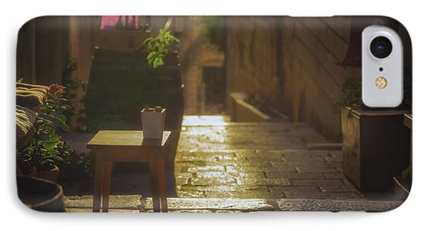 Korcula Alley No 2 IPhone Case by Chris Fletcher