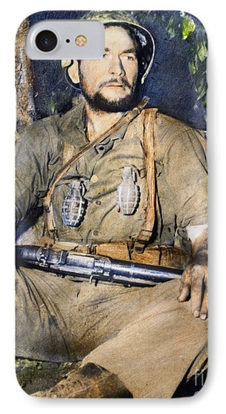 Korean War: G.i., 1950 Phone Case by Granger