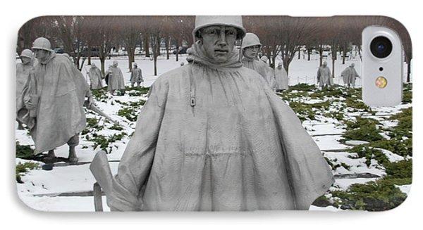 Korean War Memorial IPhone Case