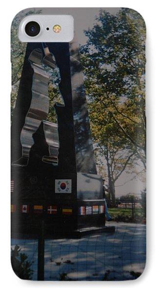 Korean War Memorial Phone Case by Rob Hans