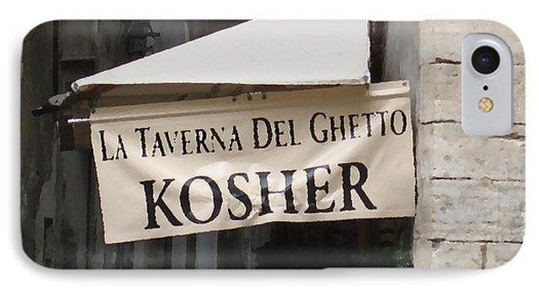 Kosher Phone Case by Rhonda Chase