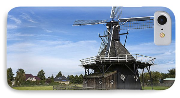 Koudum Molen IPhone Case by Chad Dutson