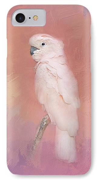 IPhone Case featuring the photograph Kramer The Moluccan Cockatoo by Theresa Tahara