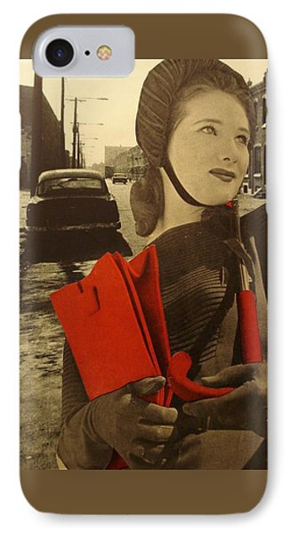 Krasnyy IPhone Case by Jayne Surrena
