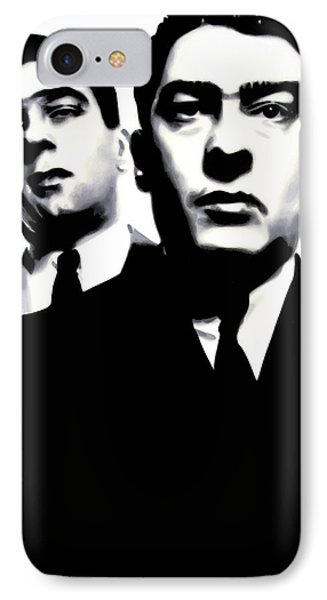 Kray Twins IPhone Case by Luis Ludzska