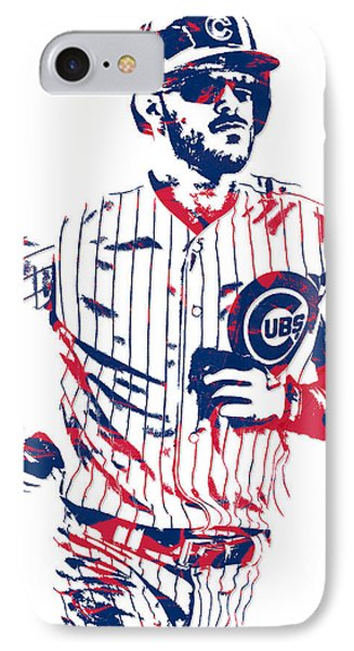 Kris Bryant Chicago Cubs Pixel Art 11 IPhone Case