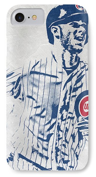 kris bryant CHICAGO CUBS PIXEL ART 2 IPhone Case
