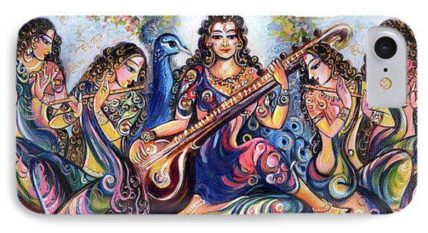 krishna - Kirtan  IPhone Case by Harsh Malik