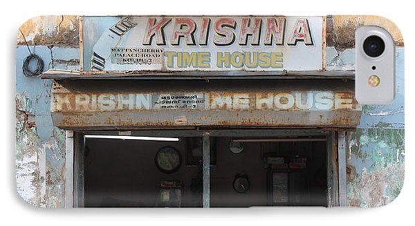 Krishna Time House IPhone Case