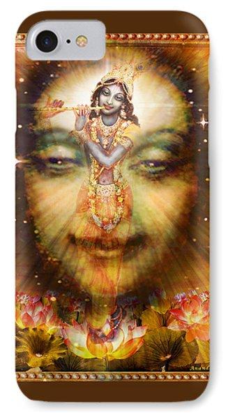 Krishnas Divine Secret  Phone Case by Ananda Vdovic