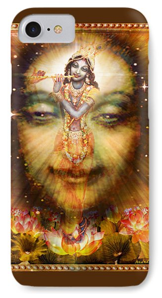 Krishnas Divine Secret  IPhone Case by Ananda Vdovic