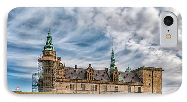 IPhone Case featuring the photograph Kronborg Castle In Denmark by Antony McAulay